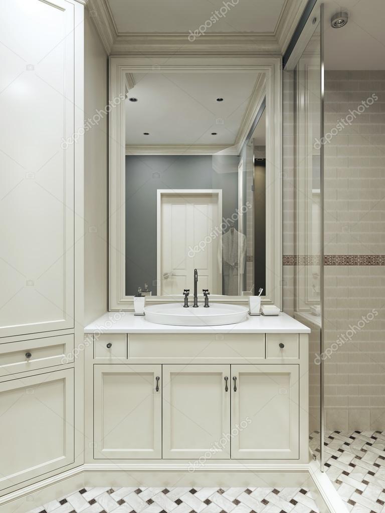 badkamer landelijke stijl — Stockfoto © kuprin33 #49110155