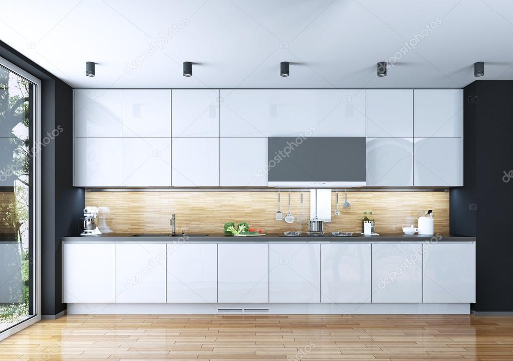 Küche Esszimmer Jugendstil — Stockfoto © kuprin33 #49110513