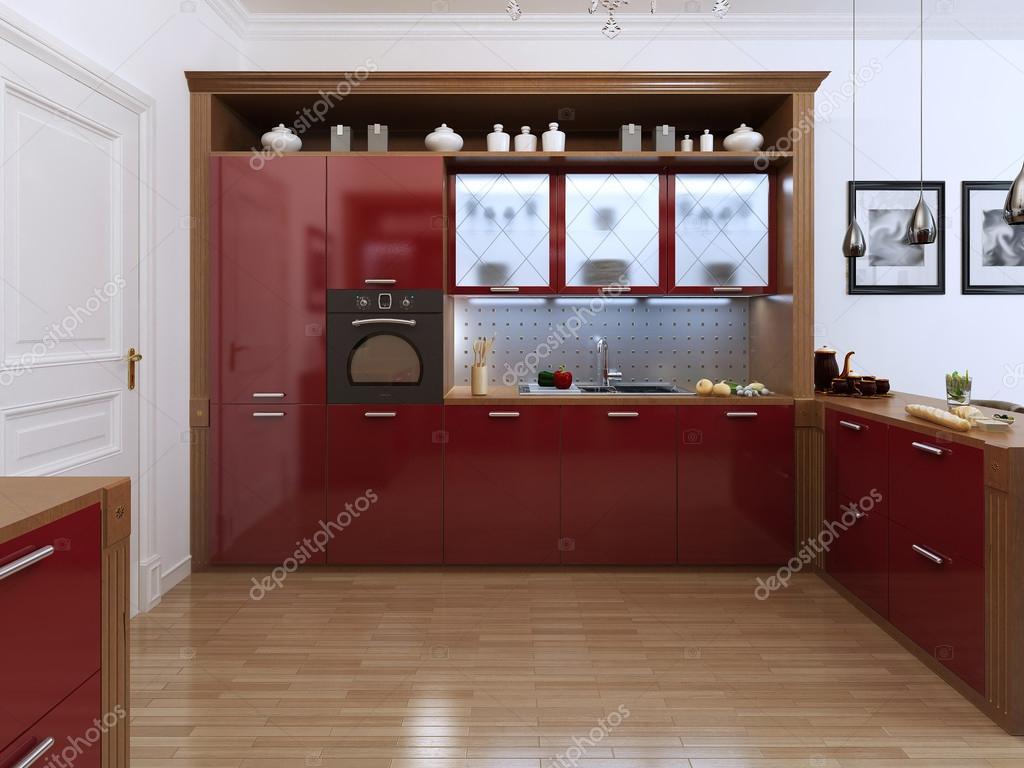 Keuken in de art deco stijl u2014 stockfoto © kuprin33 #49110591