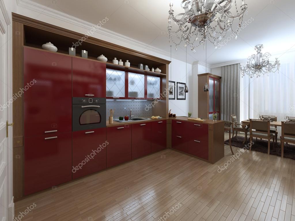 Keuken in de art deco stijl u2014 stockfoto © kuprin33 #49110597