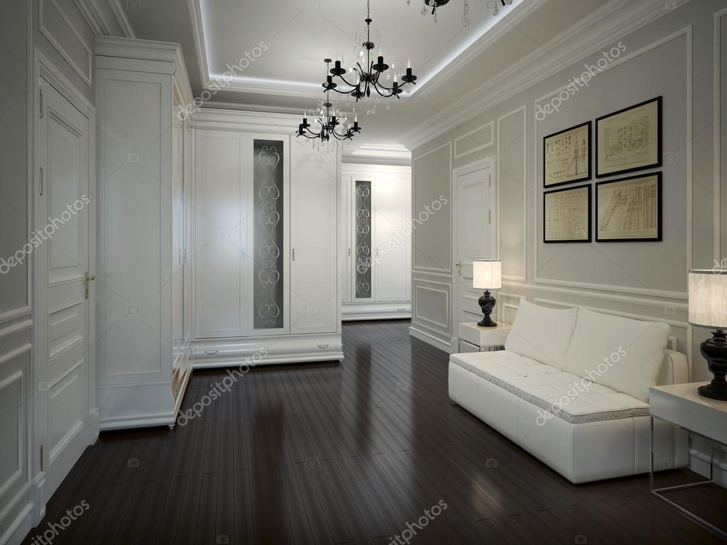 Interieur hall in art decostijl u stockfoto kuprin
