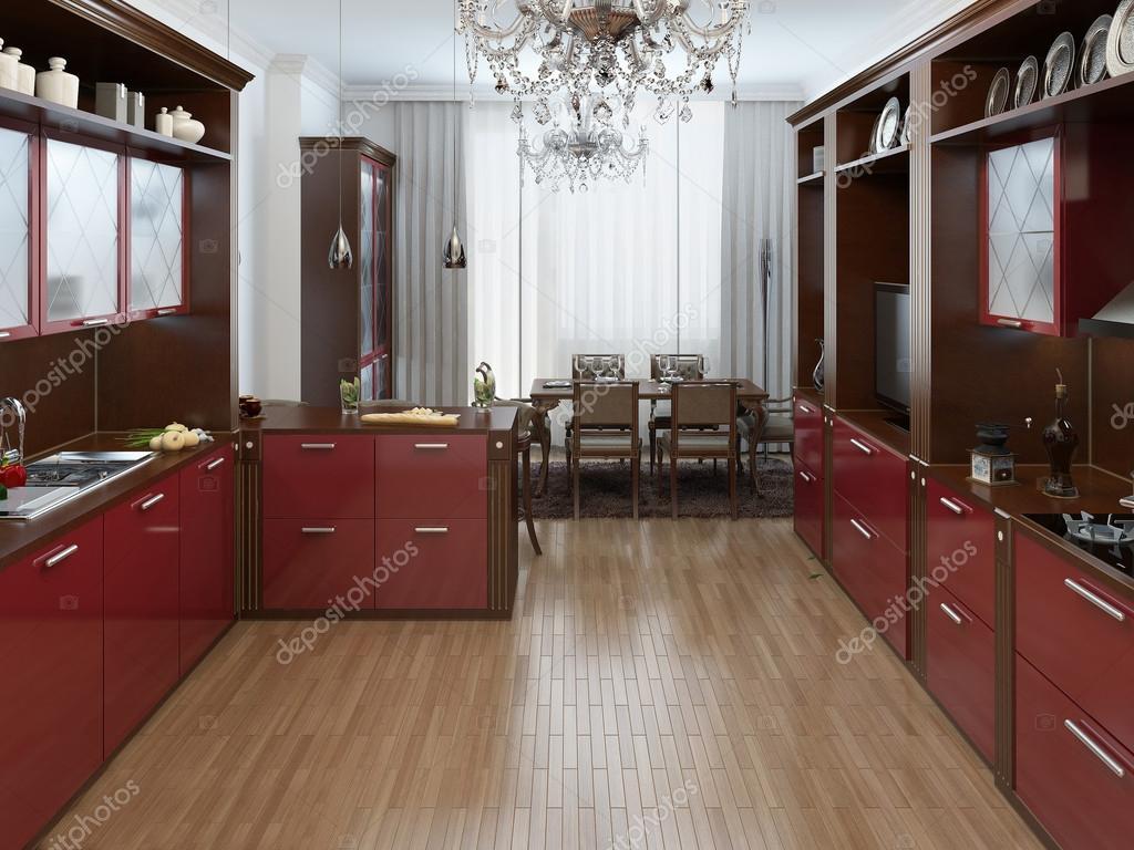 Moderne Kunst Keuken : Keuken in de art deco stijl u2014 stockfoto © kuprin33 #49110641