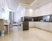 kuchyň interiér, moderní styl