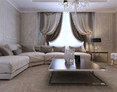 klasický styl obývací pokoj