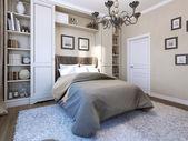 Fotografie ložnice v moderním stylu