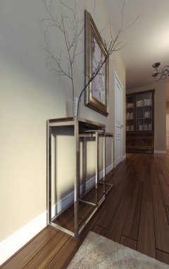 Luxury Living Room, Art Deco style