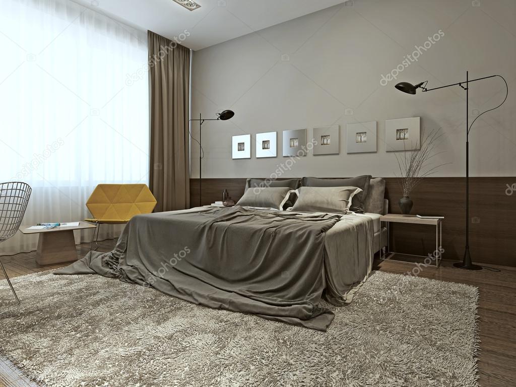 Slaapkamer interieur in moderne stijl u2014 stockfoto © kuprin33 #49470407