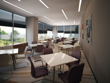 interior meeting room
