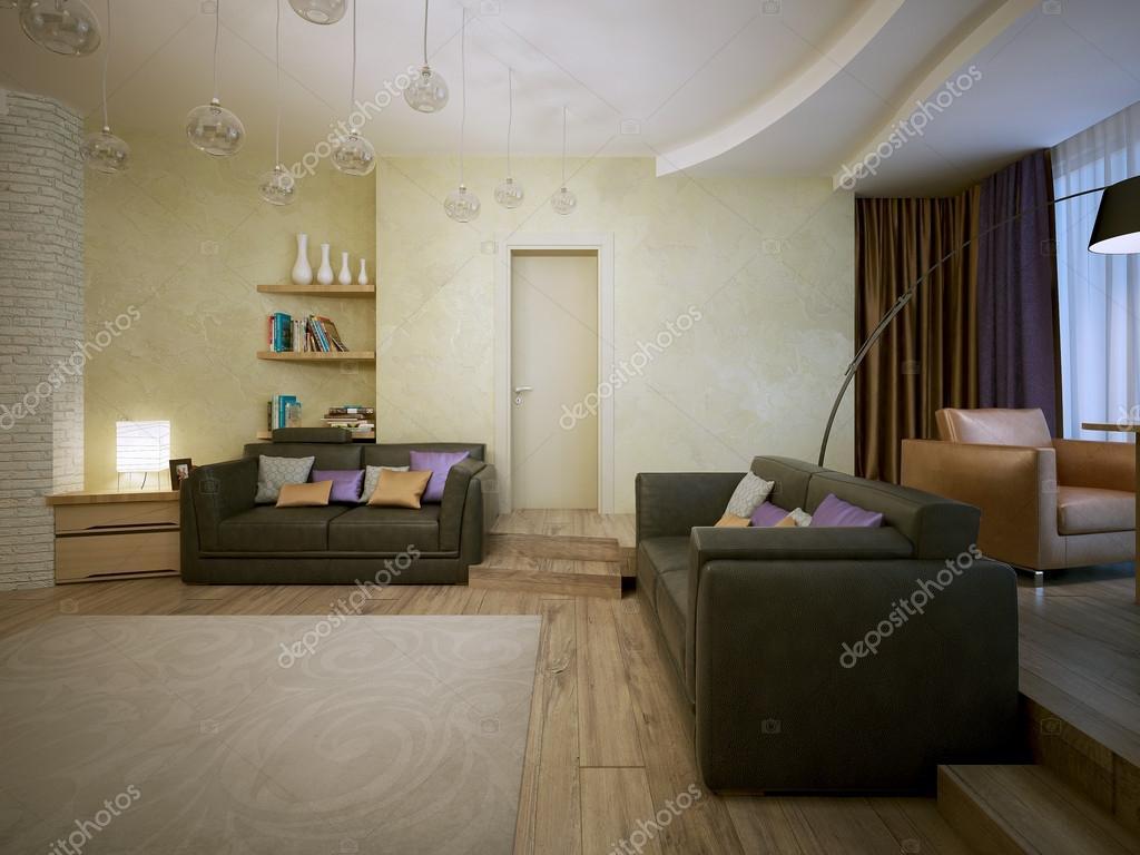 wohnzimmer modern eingerichtet ? stockfoto © kuprin33 #51673457 - Wohnzimmer Modern Eingerichtet