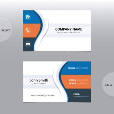 Vector abstract business cards.