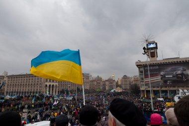 Kiev, Maidan, December 1