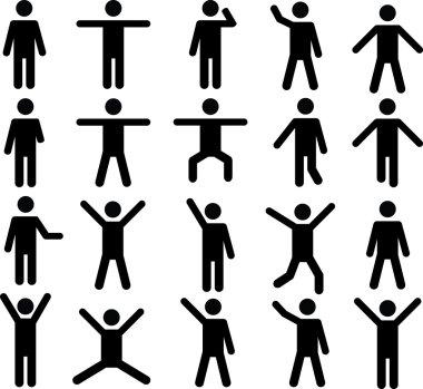 Human pictograms