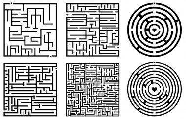 Maze illustration