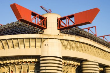 Meazza arena in Milan