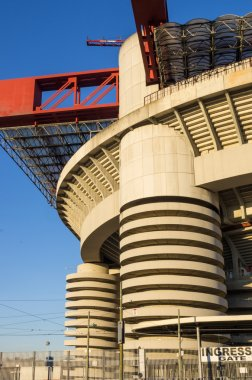Meazza stadium close up view