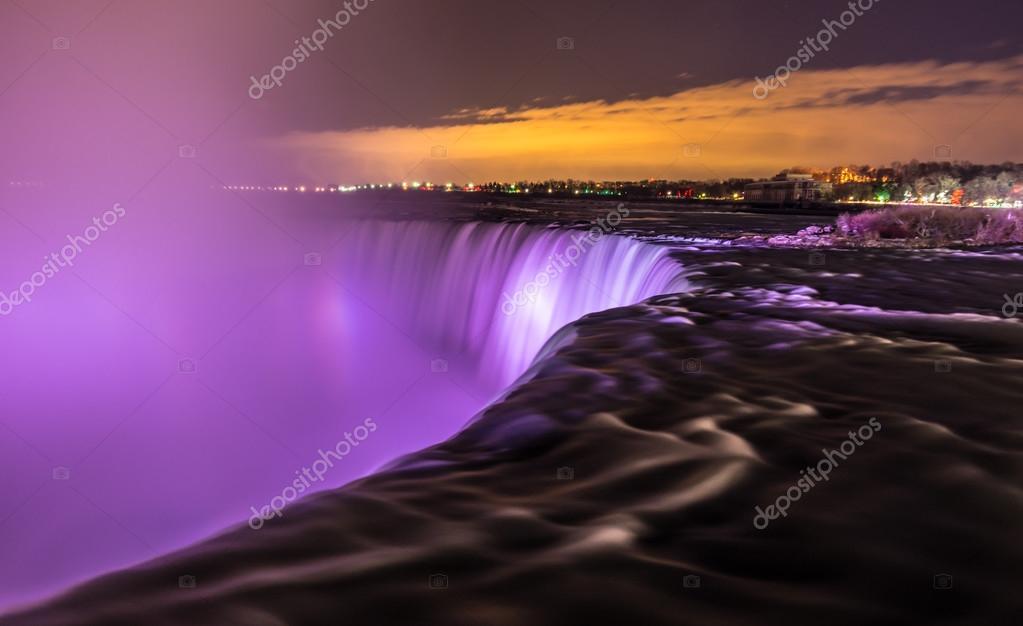 Panoramic view of Niagara Falls