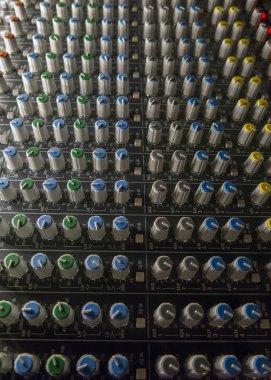 Sound studio mixer