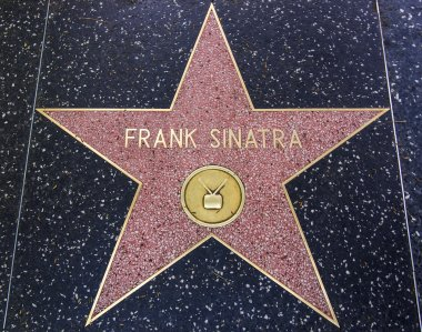 Frank Sinatra star on the Walk of Fame