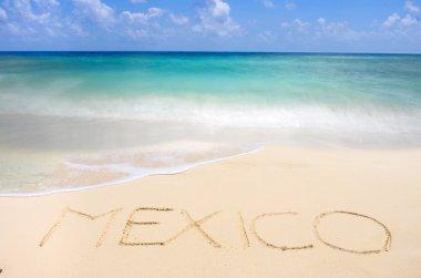 Mexican tropical beach