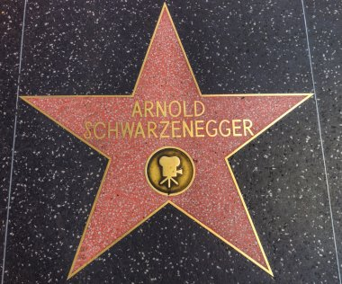 Arnold Schwarzenegger star on the Walk of Fame