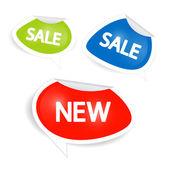 Prodej samolepky, štítky, etikety