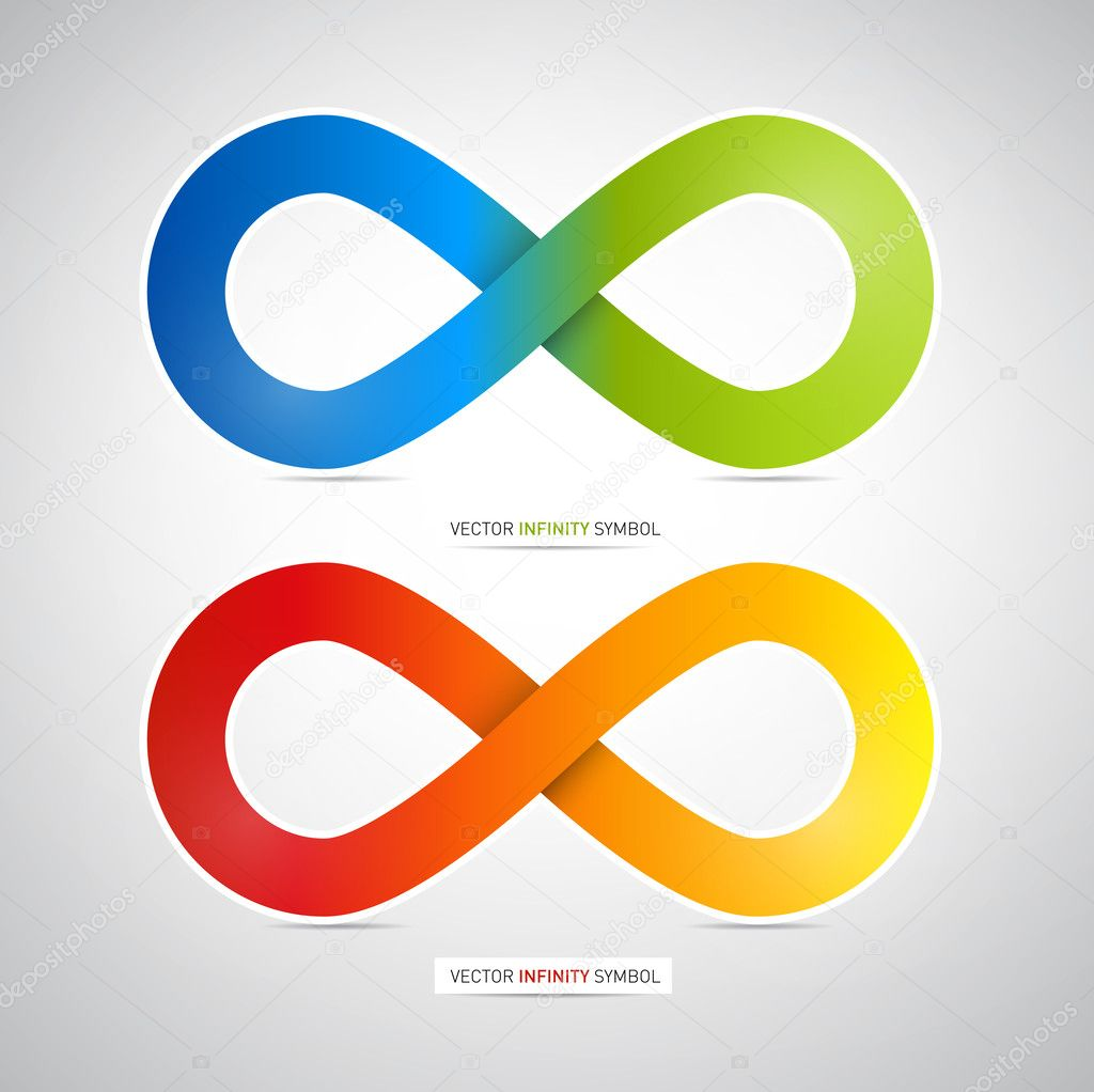 Infinity Symbol Stock Vectors Royalty Free Infinity Symbol