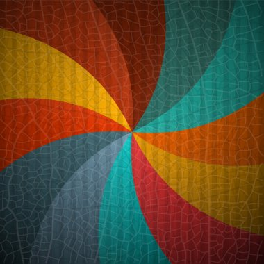 Abstract Vector Retro Background clip art vector