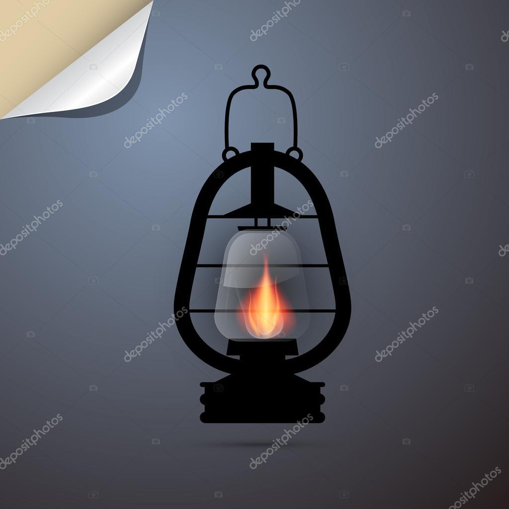 Vintage Lantern, Gas Lamp