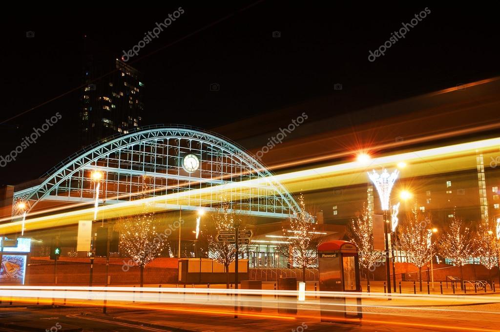 Europa, Gran Bretaña, manchester, gran pasillo de ciudad hecha de un ...