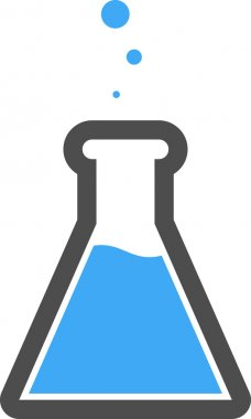 Vector Lab Flask Icon Symbol