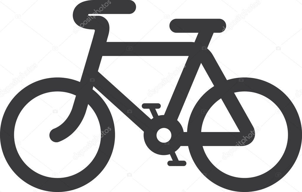 Vector Bicycle Icon Symbol