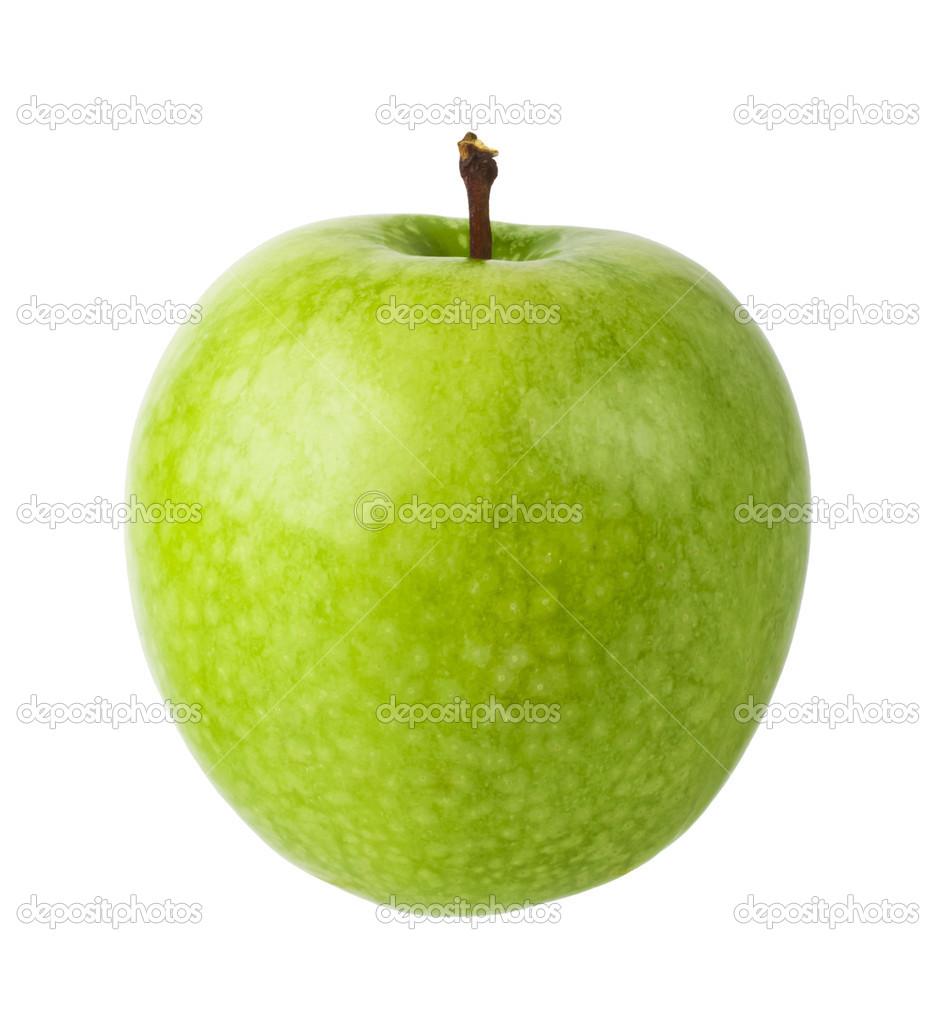 картинка яблоко на белом фоне