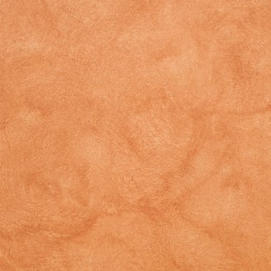Orange colored plastered wall