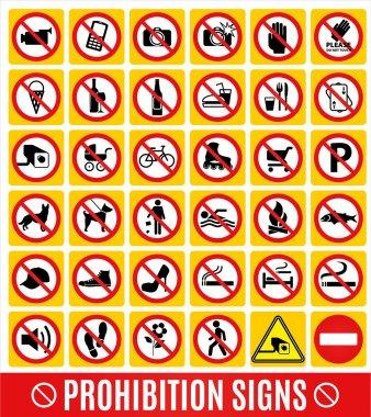 Prohibition set.