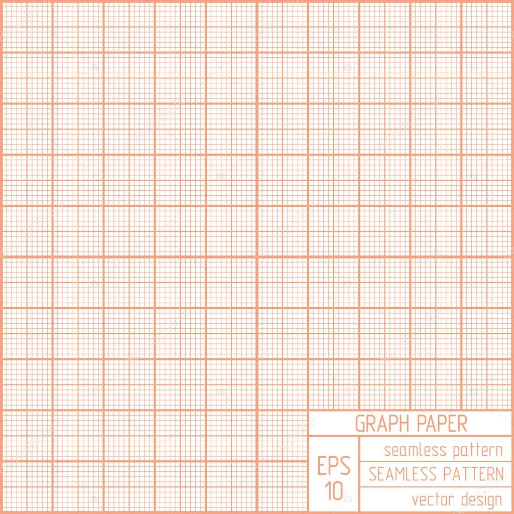 Graph Paper Seamless Pattern Stock Vector Olgamilagros 37123319