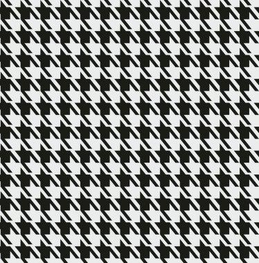 Fashion black and white print.