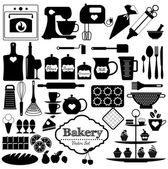 pekárna ikony nastavit