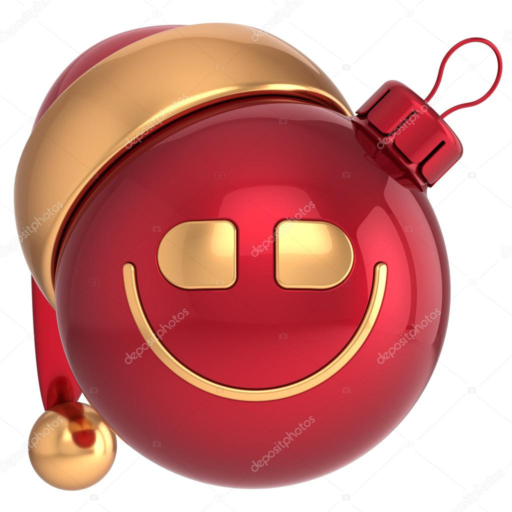 Images: smiley for dp   Smiling Christmas ball Happy New