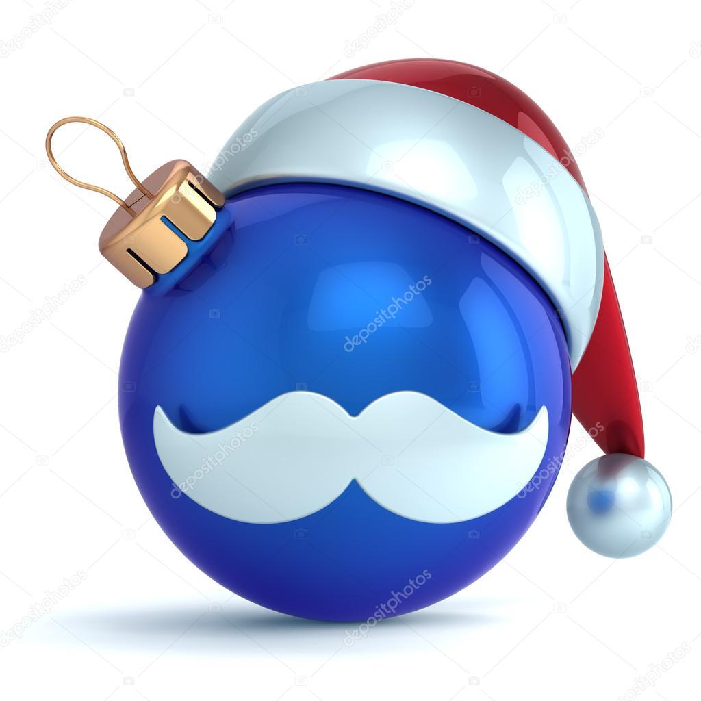 bola de Navidad ornamento del icono de la avatar santa