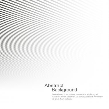 Abstract background, vector template for your ideas, monochromatic lines texture stock vector