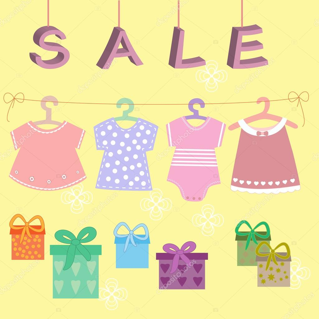 7e86173f0 Bebés ropa niños colección de iconos