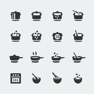 Cooking mini icons