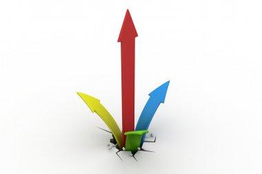 Breaking through to success as a financial graph