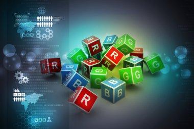 Cubes Alphabet