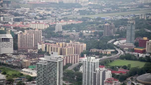 Panorama der malaysischen Hauptstadt Kuala Lumpur