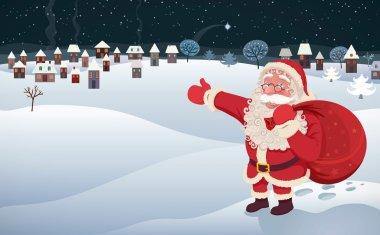 Santa Claus Arrival