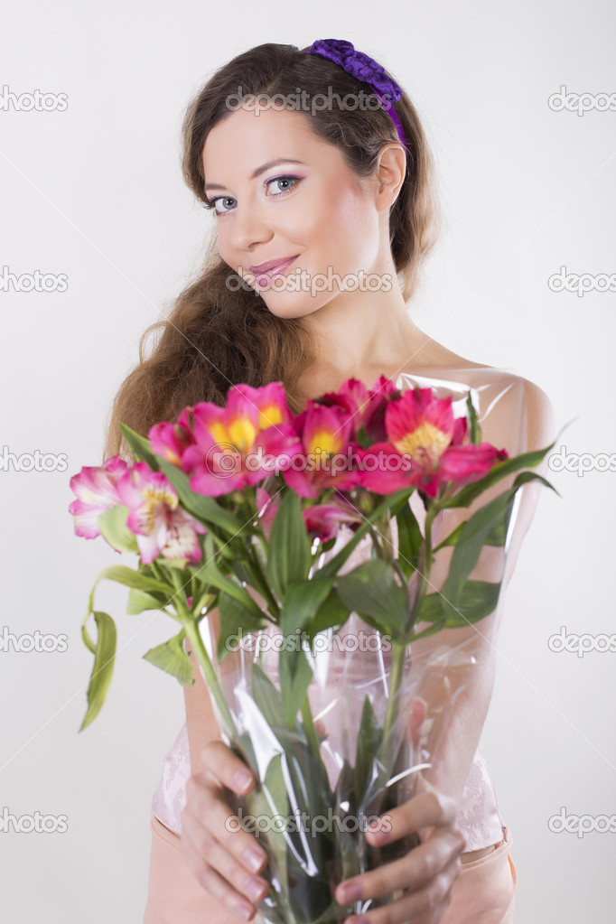 Give a girl flowers