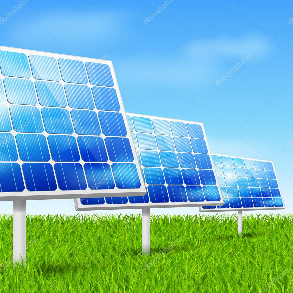 Eco energy, solar panels