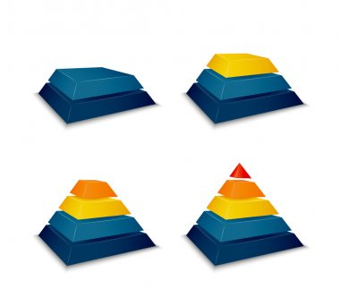 Pyramid building progress