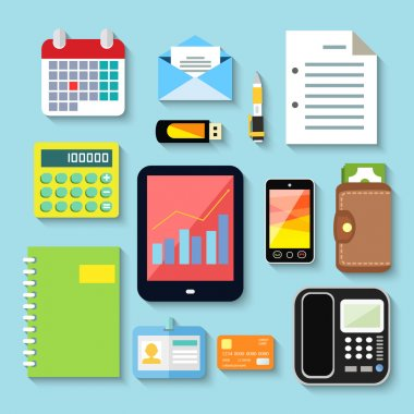 Business items and mobile devices
